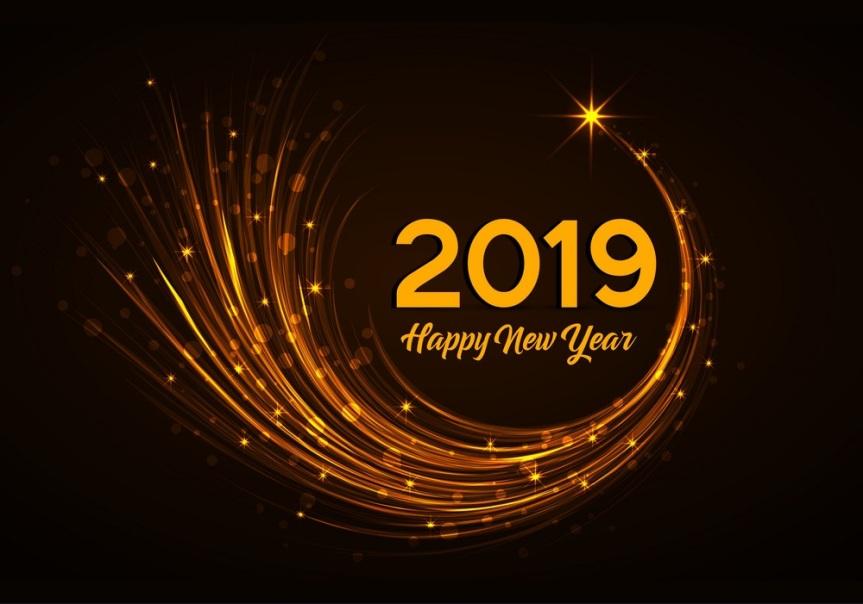 Goodbye 2018, Hello2019